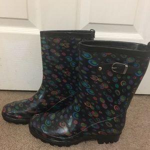 Multi Cole rain boots